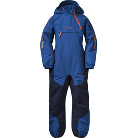 Bergans Lilletind Insulated Coverall Kids Classic Blue/Navy/Bright Magma